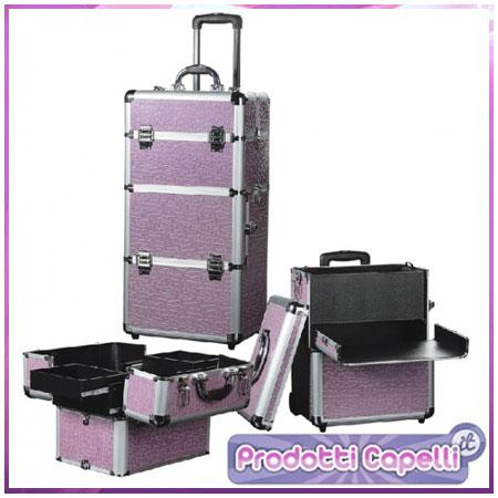 trolley valigia beauty case per estetista professionale